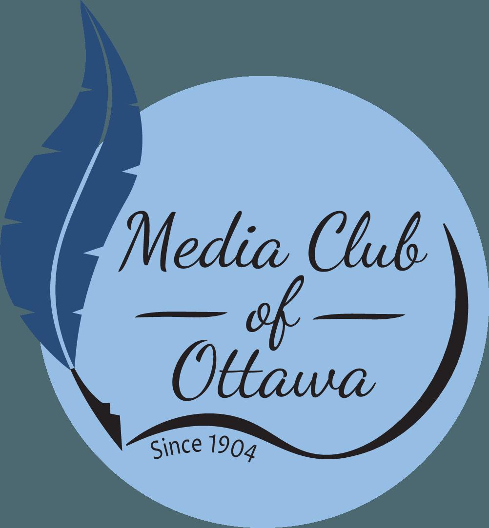 Alternative version of the logo for the Media Club of Ottawa